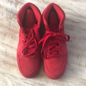 4f606d80a73 Nike Shoes - 🍎KIDS!! Nike Air Jordan 1 Retro High BG  Red
